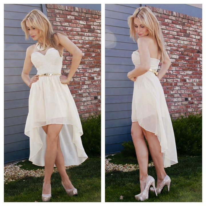 White dress for a good comfort
