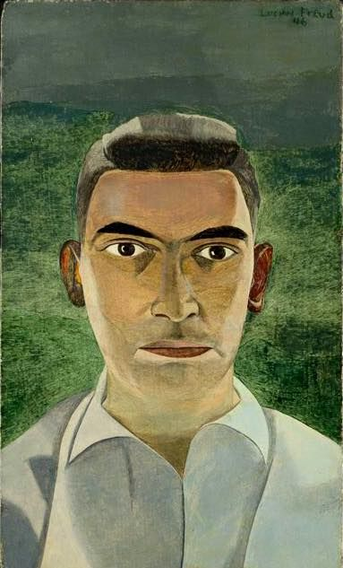 Lucian Freud (Germany 1922-2011 England), Portrait of Dr Masle, 1946.