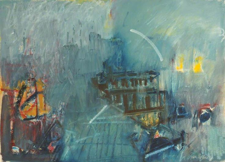 Dennis Creffield - St Pauls from Clifford Chance Building, Aldersgate