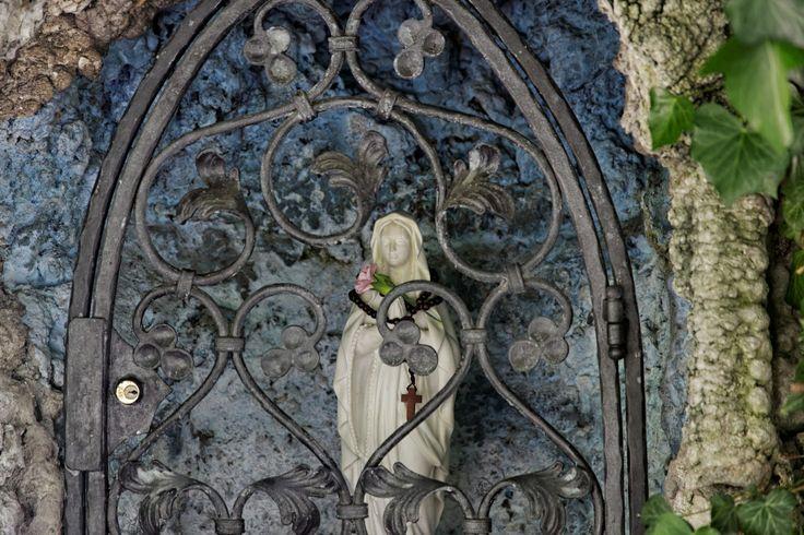 Maria mit Rosenkranz, Riva del Garda, Italien