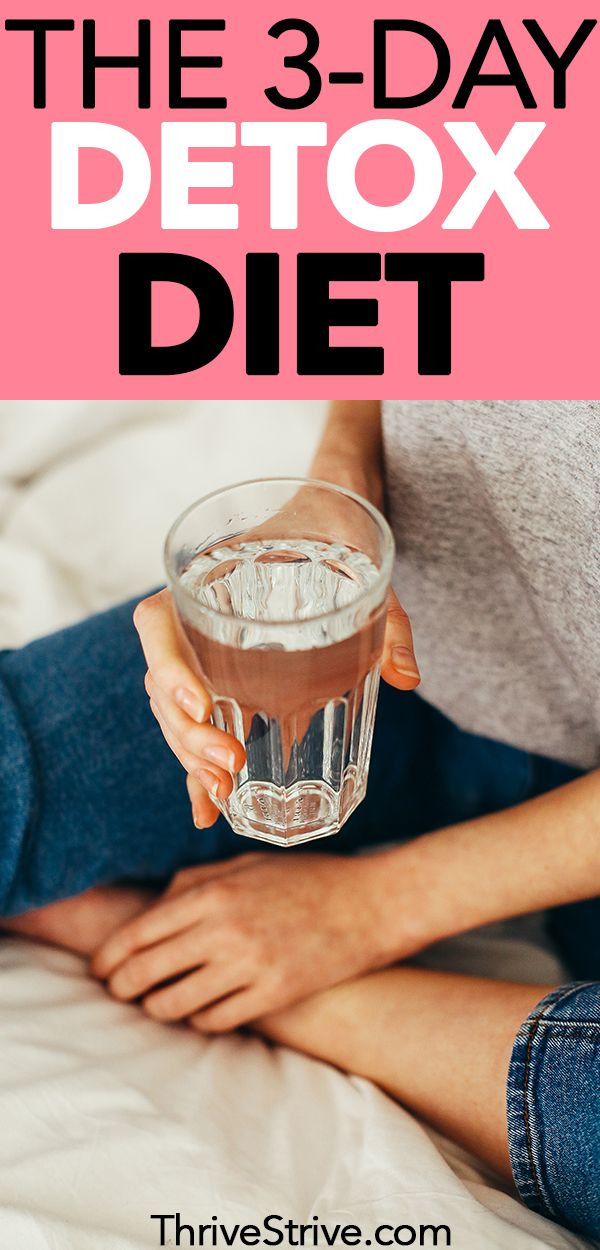 How To Do A Carb Detox The 3 Day Detox Diet Plan Carb Detox Detox Diet Detox Diet Plan