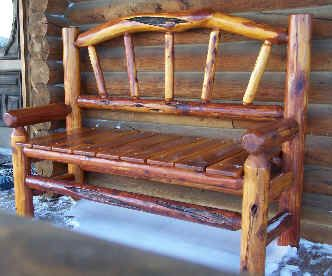 Cow Creek Cedar of Wall, SD - Furniture designed & built by cowboys.  (I really like this!)