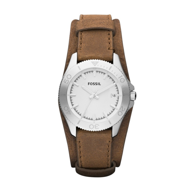 It's gonna be mine soon. Retro Traveler Leather Watch - Brown AM4460 | FOSSIL®