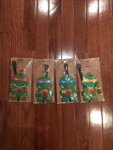 Luggage Tags 164800: New Ninja Turtles Luggage Name Tag Kids And Adults -> BUY IT NOW ONLY: $35 on eBay!