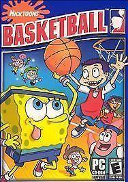 Nicktoons Basketball (PC, 2004) Video Game SpongeBob Rugrats Fairly Odd Parents