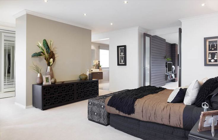 This master bedroom really is a sanctuary with the deck and the ensuite