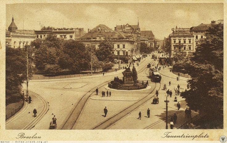 Plac Tadeusza Kościuszki, widok w kierunku północnym.Lata 1920-1925