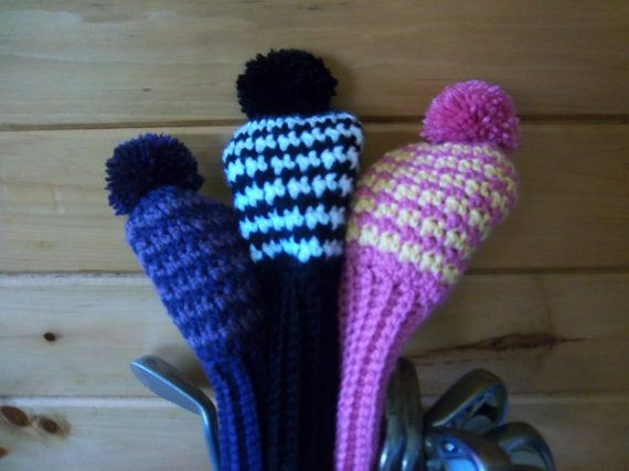 109 best images about Crocheted /knitted Golf club covers ...