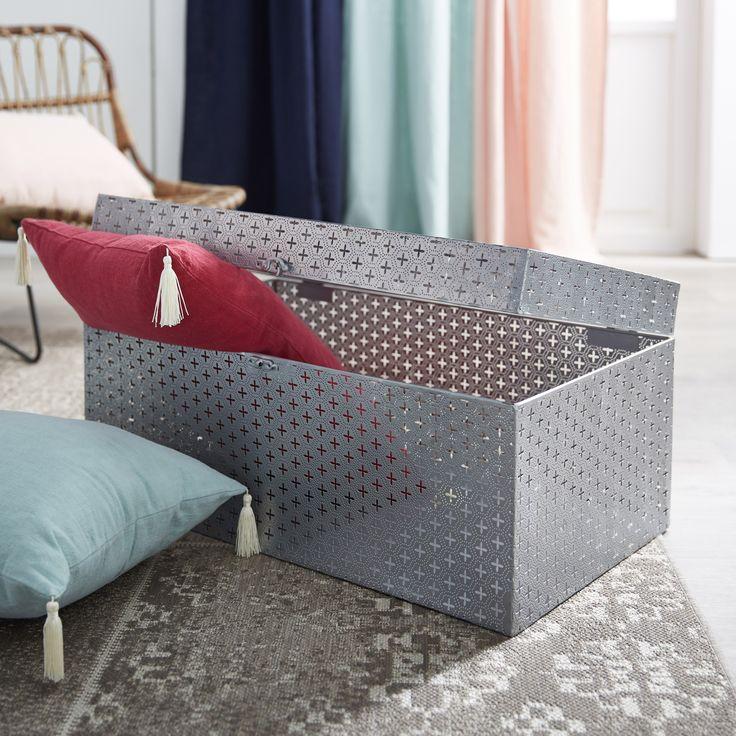 malle de rangement alina with boite de rangement alinea. Black Bedroom Furniture Sets. Home Design Ideas