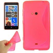 Funda Lumia 625 - Sline Fucsia  $ 42,11