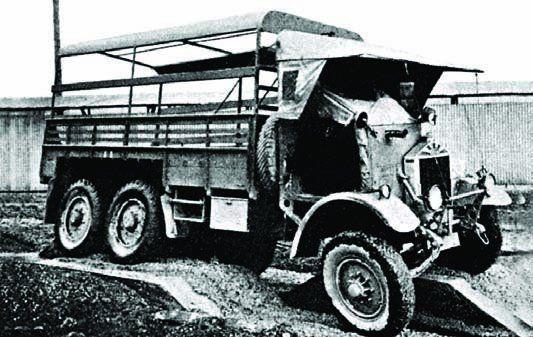 1938 Albion 6x6