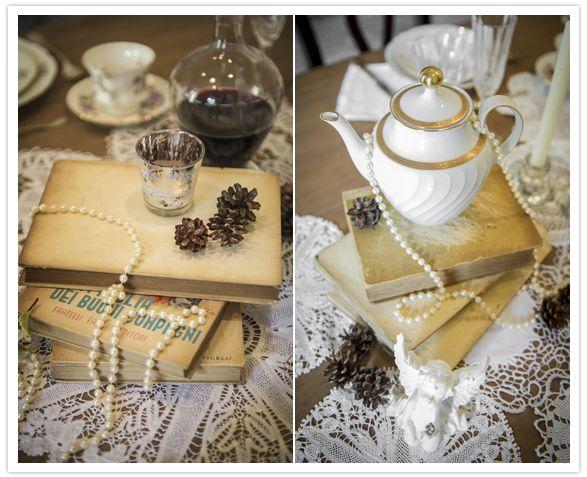Vintage Victorian Wedding Theme Collages