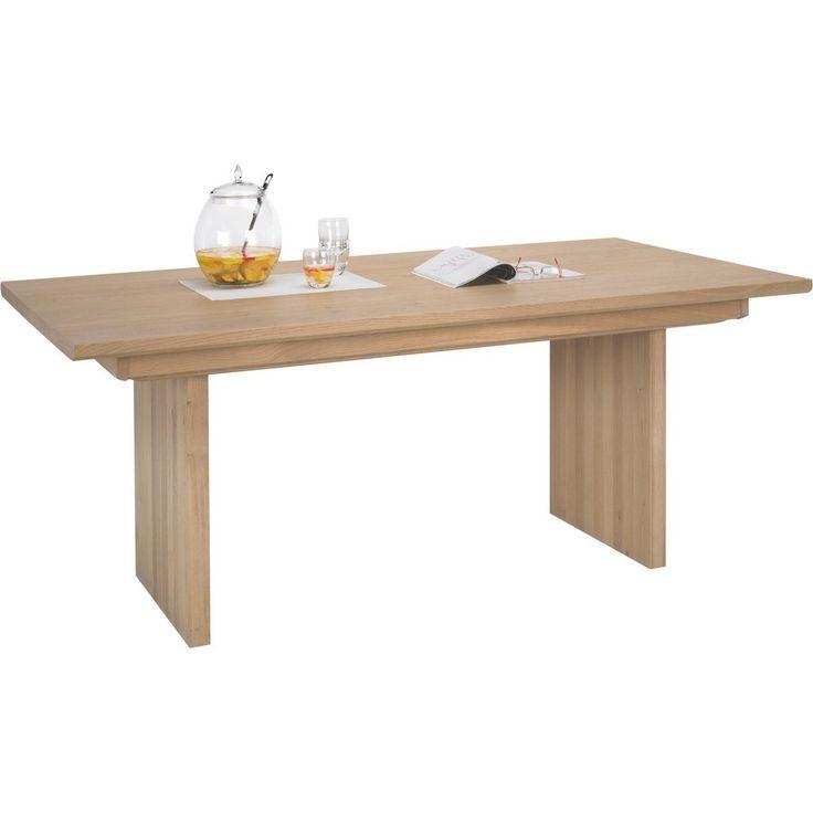 VOGLAUER ESSTISCH Wildeiche Massiv, Mehrschichtige Massivholzplatte  (Tischlerplatte) Rechteckig Braun Jetzt Bestellen Unter: