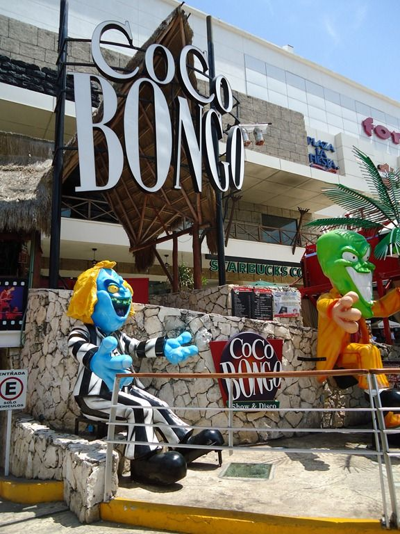Coco Bongo in Cancun, Mexico--where The Mask nightclub scene was shot!