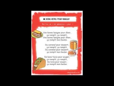 De bons repas pour manger - Gribouille - (Chansons enfants) - YouTube