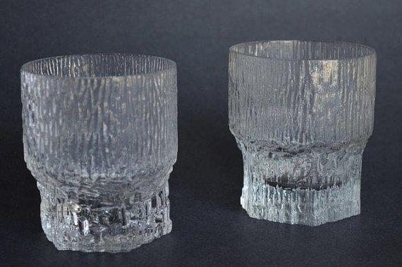 Iittala Aslak Double Old Fashioned Glasses or by DishingItUp, $45.00