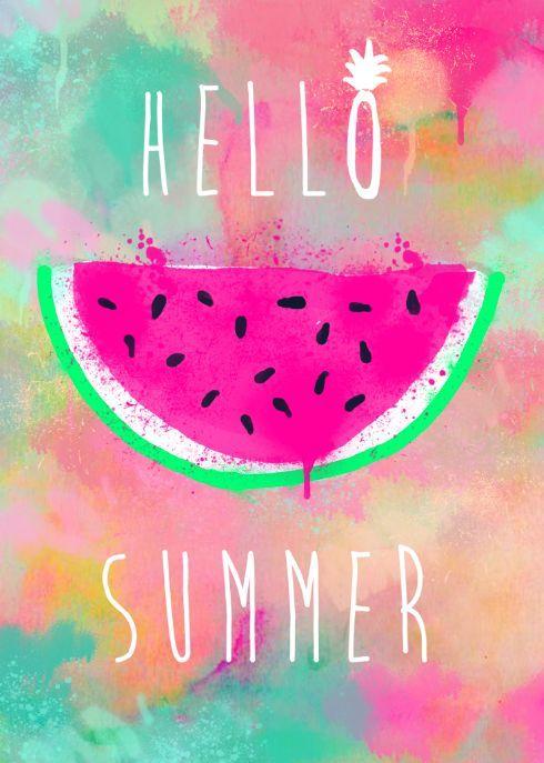 Risultati immagini per hello summer