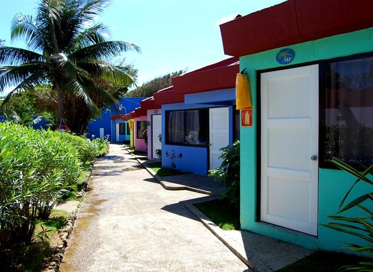 Ubicado en el sector de Sarei Bay, a 10 minutos del centro de la Isla y la playa.
