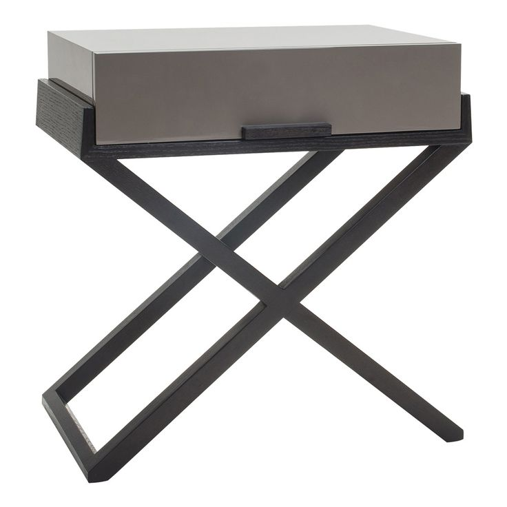 Liang Amp Eimil Boston Bedside Table Taupe In 2020 Bedside