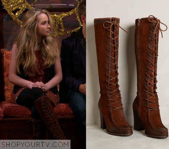 Girl Meets World: Season 2 Episode 25 Maya's Lace up Boots