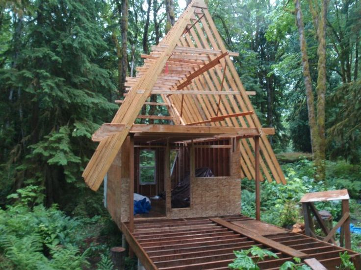 40 best images about a frame cabins on pinterest space for Small cottages to build