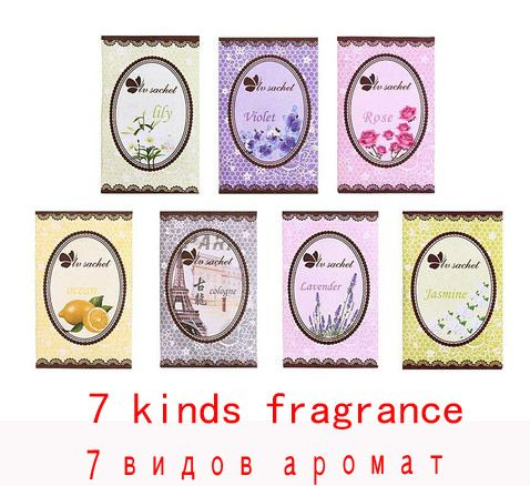 10 pcs/lot  Taste Fresh Air Scented Fragrance Home Wardrobe Drawer Car Perfume Sachet Bag Absorb smoke 7 kinds of fragrance #shoes, #jewelry, #women, #men, #hats