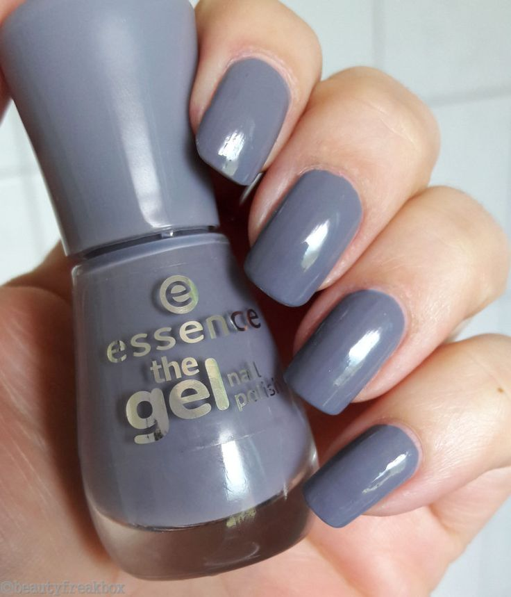 Essence The Gel Nail Polish U2013 87 Gossip Girl #essence #nailpolish #nagellack #dmdrogerie #budni ...