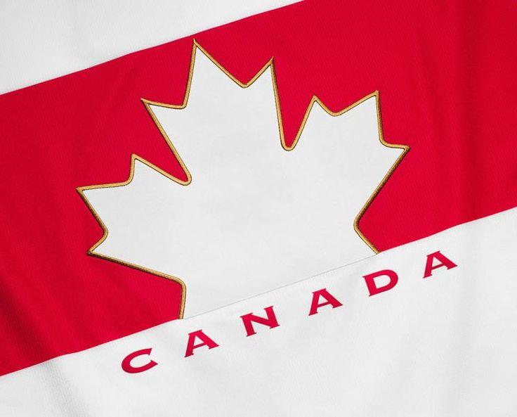 Team Canada's 2014 Olympic hockey jersey