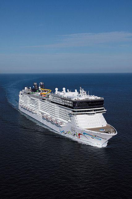 Norwegian Epic, Norwegian Cruise Line. Off on her at end of month! http://www.tipsfortravellers.com/norwegian/