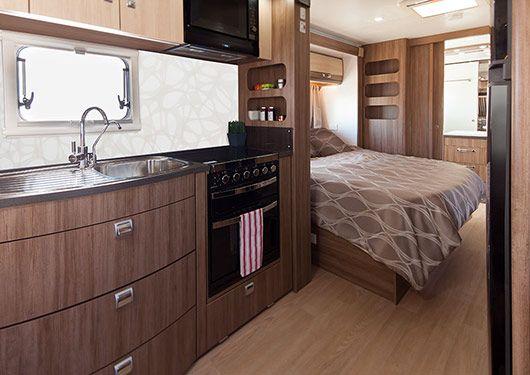 Silverline Caravan Interior 2