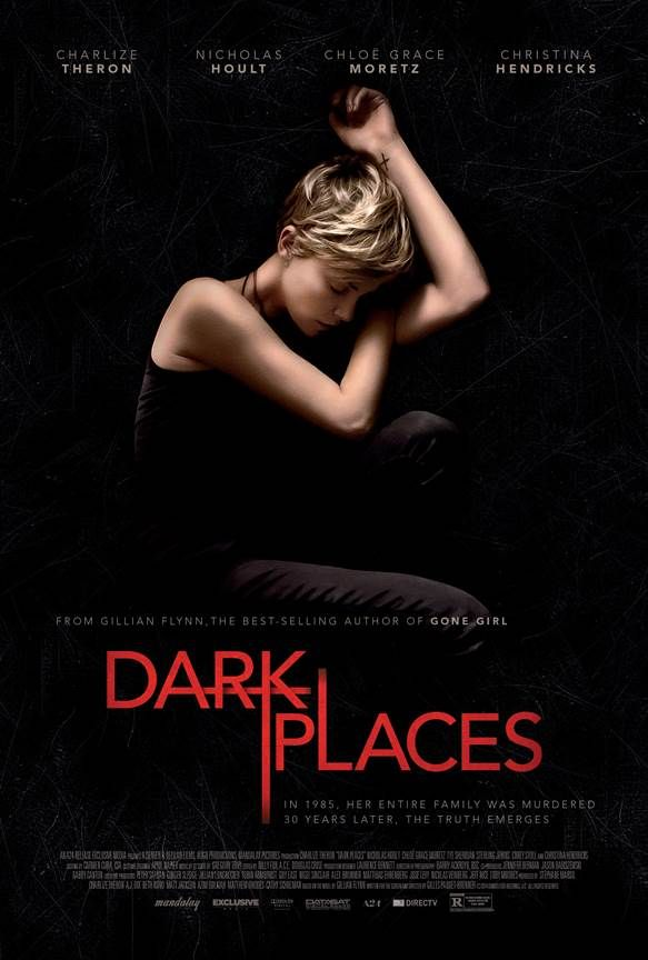 The poster for Gillian Flynn's next movie, Dark Places!