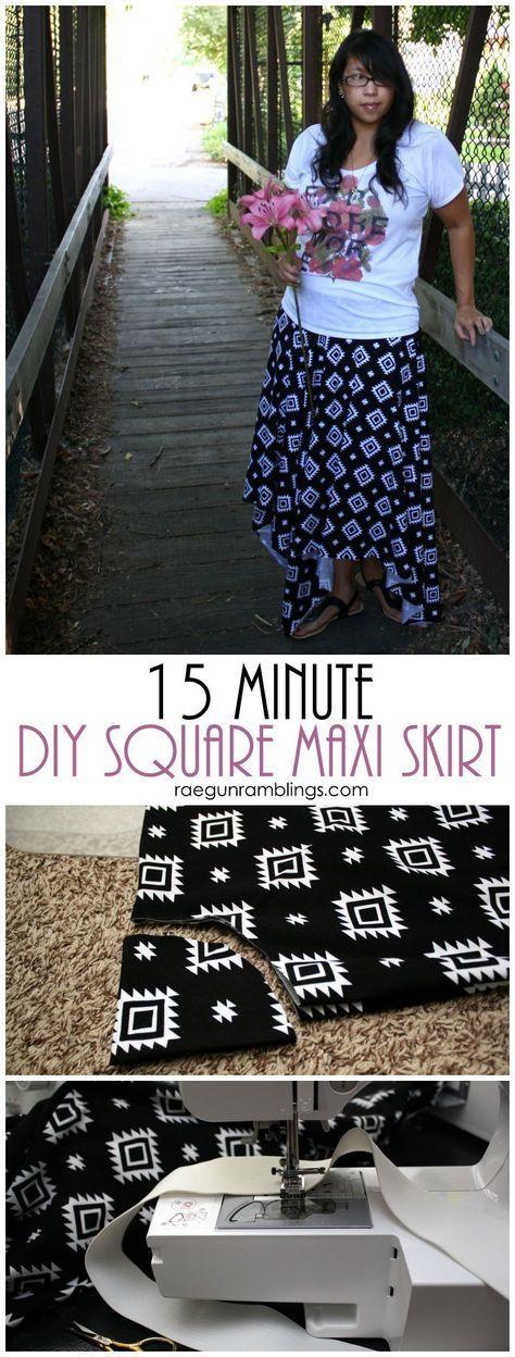 My new favorite DIY skirt tutorial so fast, easy, and cute