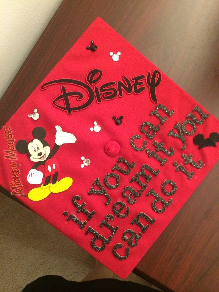 Graduation cap, Disney style!