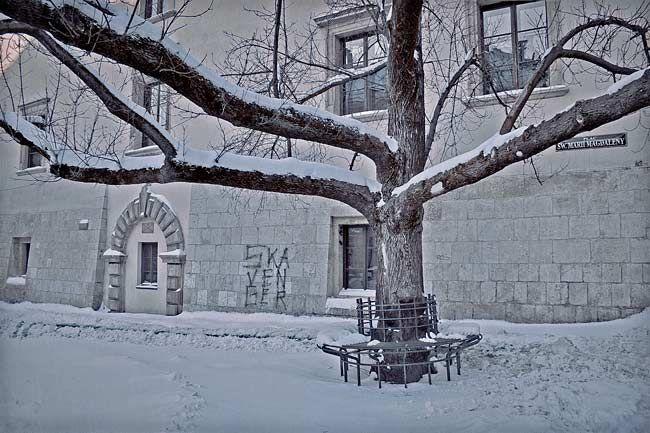 Plac sw. Marii Magdaleny. Krakow