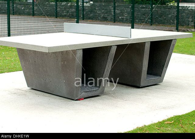 Concrete Outdoor Ping Pong Tables Soon To Adorn Nyc Parks Table And Park