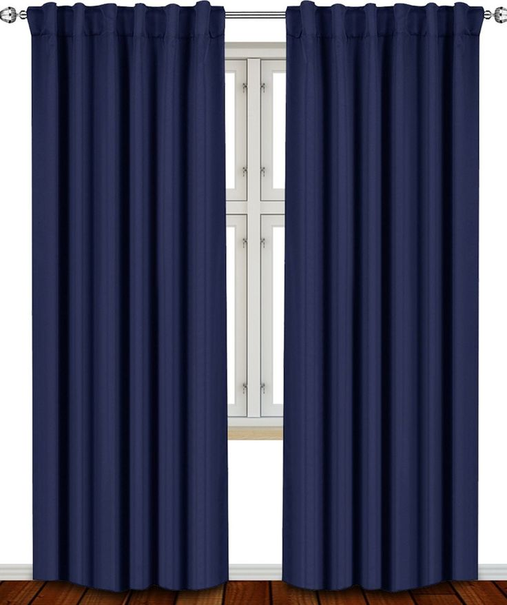 The 25 Best Navy Blue Curtains Ideas On Pinterest Blue