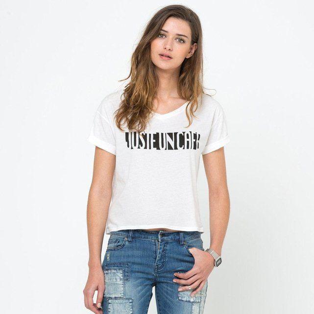 Image Tee-shirt coton SOFT GREY