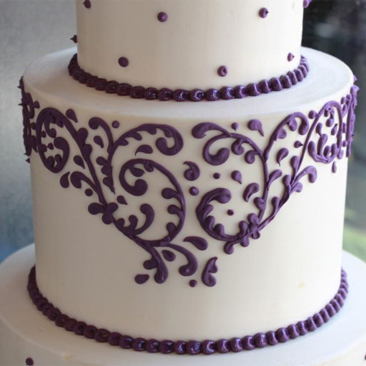 Cake Piping Design Patterns : 229 best images about cake decorating on Pinterest