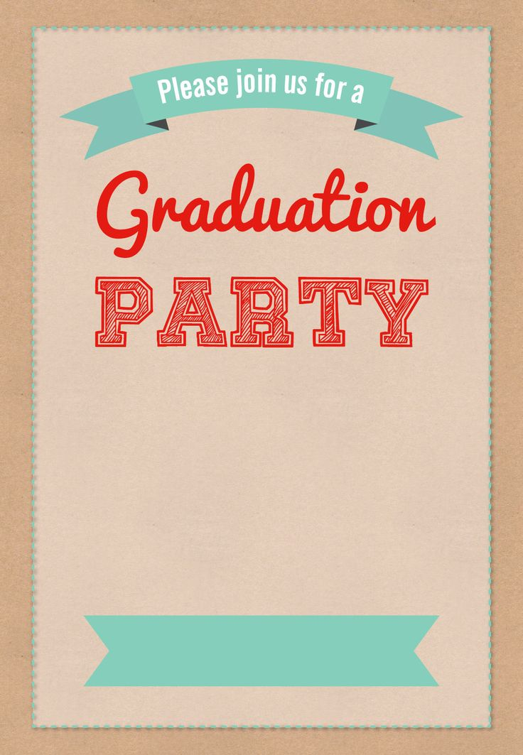 Invitation For A Graduation Party was best invitation template