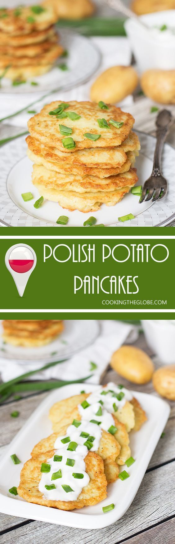 These Polish Potato Pancakes are amazingly delicious and require only few simple ingredients to make! | cookingtheglobe.com (Gluten Free Recipes Casserole)