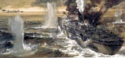 Retro Brit: H.M.S. Jervis Bay - Heroic Final Valiant Moment - MV San Demetrio.