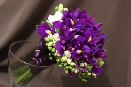 Buchete de mireasa cu flori de primavara