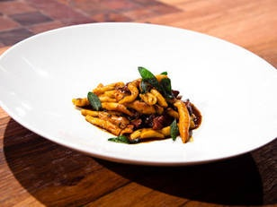 Spiced Lamb Ragu with Scilatelle and Chocolate recipe from Chef Guy Grossi.