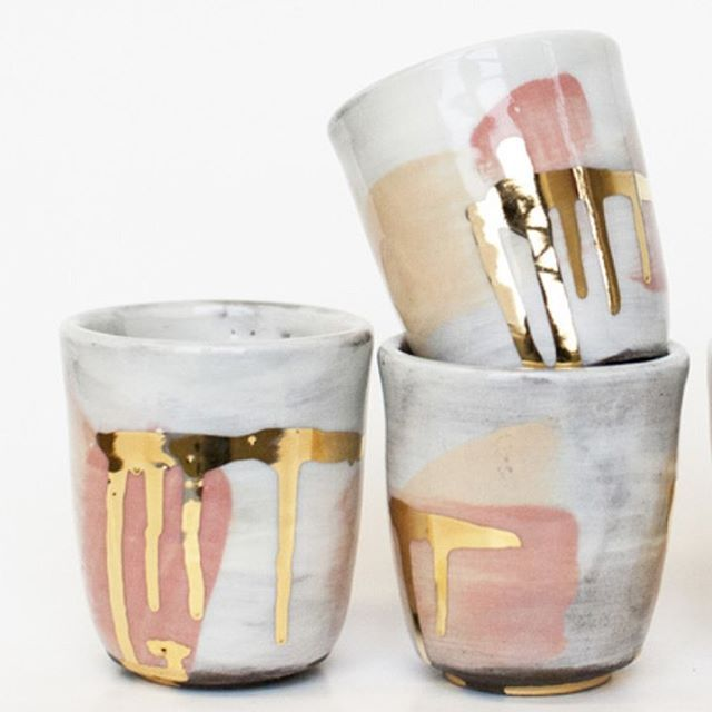 Romy Northover ceramics are IN! Including these 22-Karat beauties. Stop by the store to shop the full collection. They're not on the site yet so email us to inquire. We can't think of a better way to drink in your beauty elixirs and teas. Or as we like to say, Begin Within. #seekbeauty #beautyfoods #CAPstyle @no.___