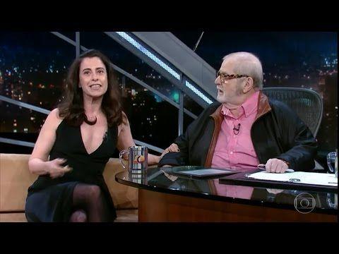 Entrevista a atriz Fernanda Torres no Programa do Jô