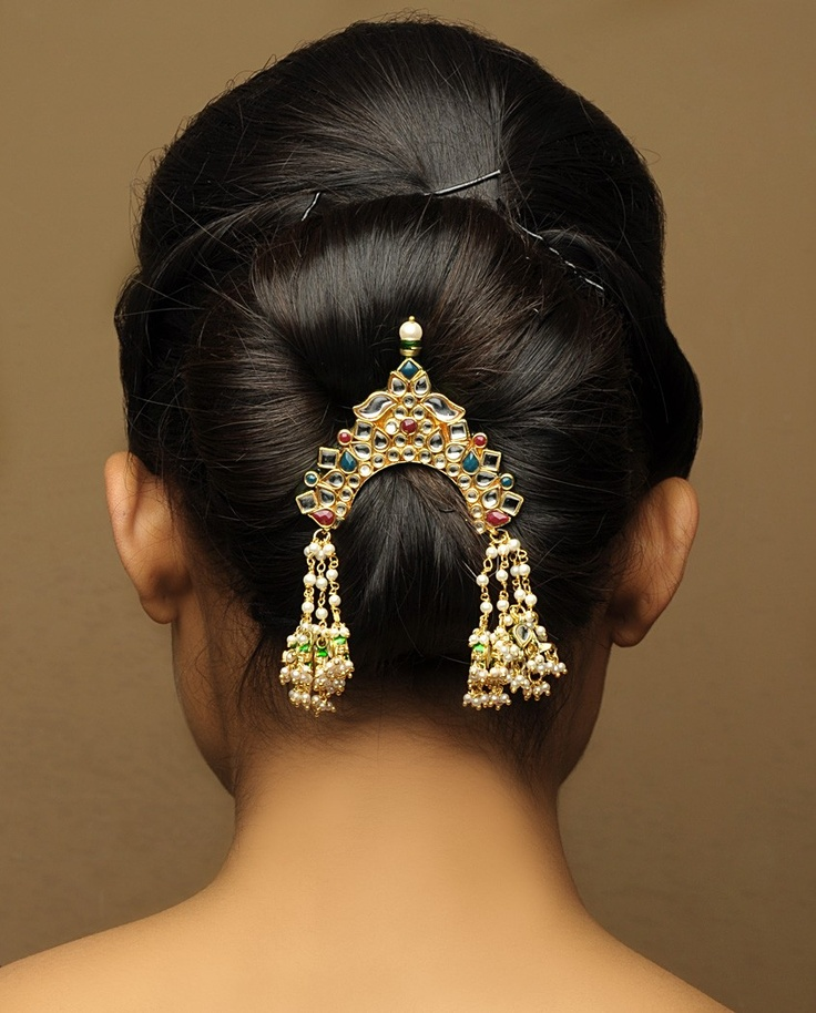 Traditional Indian Hairstyle For Wedding: Hairstyles For Indian Wedding