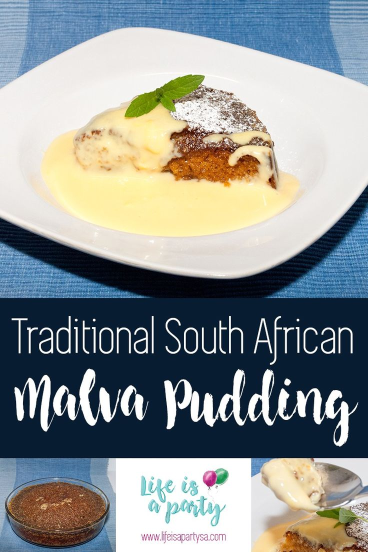 Traditional South African Malva Pudding recipe
