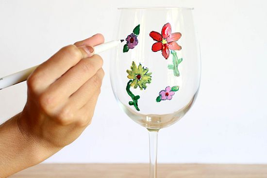 How to Paint Wine Glasses: 11 steps (with pictures) - wikiHow