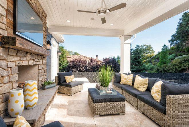 Back porch decor. Back porch furniture and decor. Back porch ideas. #Backporch #Backporchdecor #Backporchfurniture The ADDRESS Company