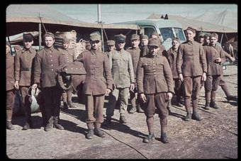 Polish soldiers captured by the Germans during the Polish invasion by Germany. Pin by Paolo Marzioli